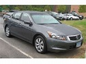 Honda Accord gray 2008