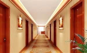 Hotel hall way