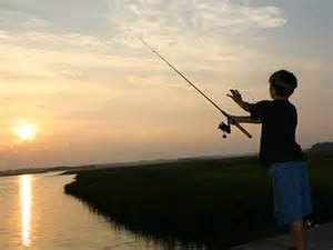 Jacob fishing