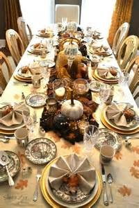 Thanksgiving Table set