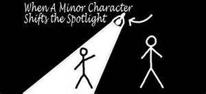 minor charac shifts spotlight to him