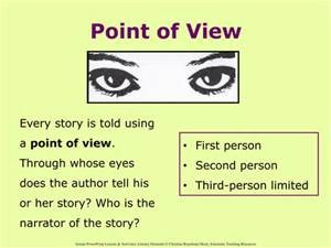 point of view who's telling the story