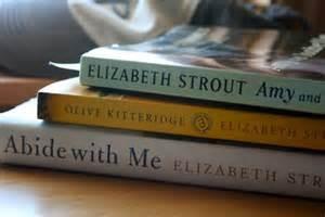 Elizabeth Strout 3 book stack