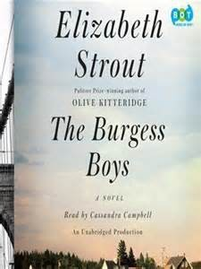Elizabeth Strout The Burgess Boys cover