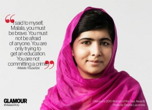 Malala quote for education