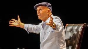 Wayne Dyer with arms open