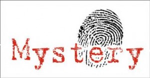 mystery with fingerprint