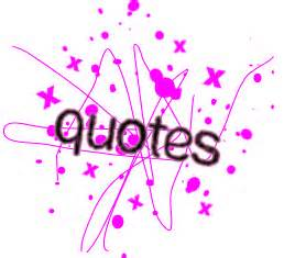 quotes word with sparkle pink