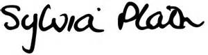 sylvia Plath signature