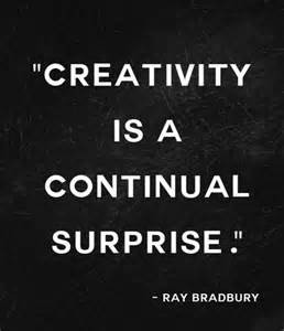 Ray Bradbury quote about creativity