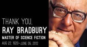 Ray Bradbury with dates