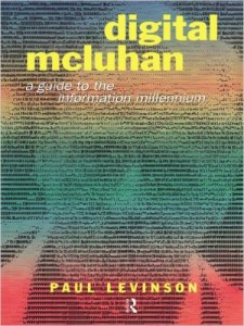 Paul Levenson Digital McLuhan book cover