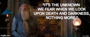 Quotes Dombledore about death