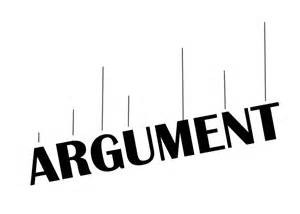 argument word only