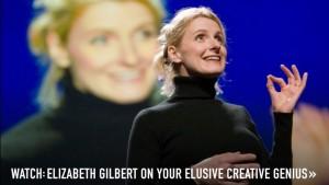Elizabeth Gilbert ad for YouTube