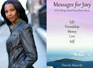 Danine photo of her and new book