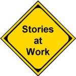 Stories    at work traffic sign