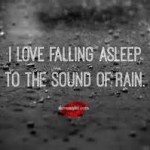 rain sounds to sleep