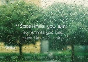 rain win lose