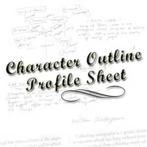 dossier character outline profile