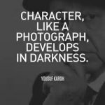 Photography like a character