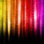 Rainbows stalagtites