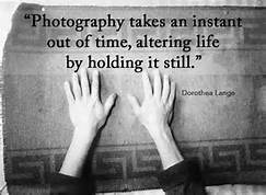 photography holds a moment