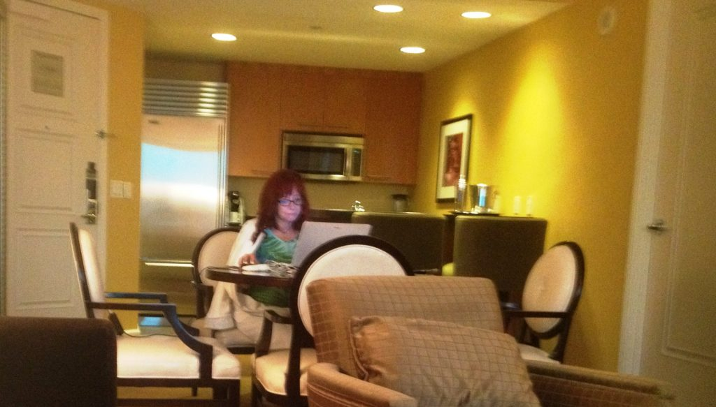 Las_Vegas Me typing kitchen background2016 (2)